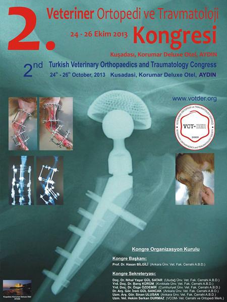 2.Veteriner Ortopedi ve Travmatoloji Kongresi