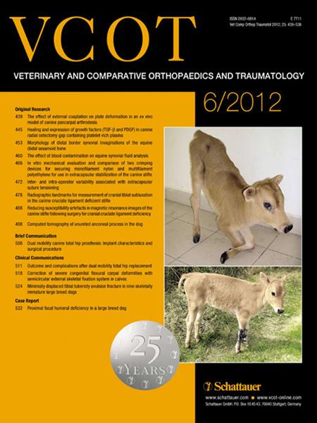 VCOT Veteriner Ortopedi ve Travmatoloji Dergisi